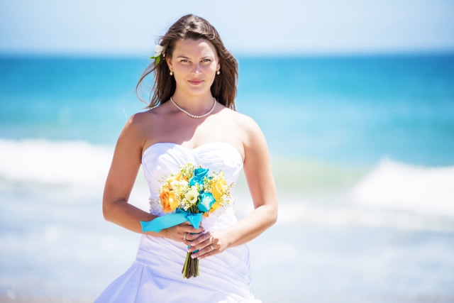 Beautiful bride on Sycamore Canyon Beach.jpg