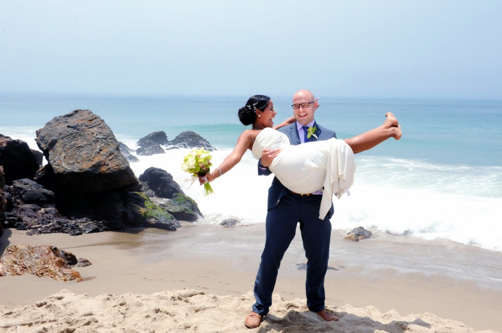 Just Married on the beach.jpg