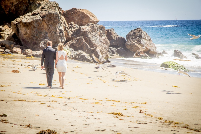Malibu Beach Wedding Ceremony Jpg